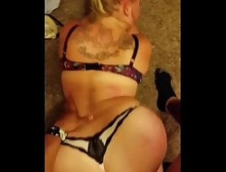 Amature Phat ass white girl Gets fucked!