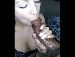 daddys white girl rides and sucks for cum facial cumshot
