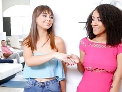 DaughterSwap - Teens Agree To Pulverize Each Other's Daddies