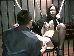 Asian Office Woman of Torment