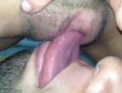 Teen pussy eating