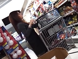 candid - supermarket Hottie with a BOOTY COMPILATION